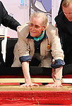 HOLLYWOOD, CA - APRIL 30: Peter O'Toole attends the TCM Classic Film Festival honors Actor Peter O'Toole with hand and foot ceremony held at Grauman's Chinese Theatre on April 30, 2011 in Hollywood, California.