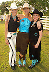 Chairs Patti Murphy, Stef Levy and Melinda Overstreet at the Cattle Baron's Ball at the George Ranch Saturday April 28,2007.(Dave Rossman/For the Chronicle)