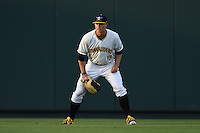 Bradenton Marauders outfielder Austin Meadows (13) during a game against the St. Lucie Mets on April 11, 2015 at McKechnie Field in Bradenton, Florida.  St. Lucie defeated Bradenton 3-2.  (Mike Janes/Four Seam Images)