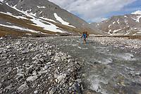 Arctic National Wildlife Refuge, Brooks Range, Arctic Alaska.