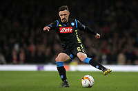 Fabian Ruiz of Napoli in action during Arsenal vs Napoli, UEFA Europa League Football at the Emirates Stadium on 11th April 2019