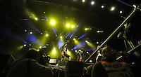 Highfield Festival 2014 auf der Magdeborner Halbinsel am Störmthaler See - im Bild: Auftritt der Band Gogol Bordello.  Foto: aif / Norman Rembarz<br /> <br /> Jegliche kommerzielle wie redaktionelle Nutzung ist honorar- und mehrwertsteuerpflichtig! Persönlichkeitsrechte sind zu wahren. Es wird keine Haftung übernommen bei Verletzung von Rechten Dritter. Autoren-Nennung gem. §13 UrhGes. wird verlangt. Weitergabe an Dritte nur nach  vorheriger Absprache. Online-Nutzung ist separat kostenpflichtig.