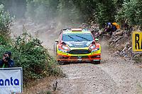 PROKOP Martin / TOMANEK Jan (Ford Fiesta RS WRC) during the World Rally Car RACC Catalunya Costa Dourada 2016 / Rally Spain, in Catalunya, Spain. October 15, 2016. (ALTERPHOTOS/Rodrigo Jimenez) NORTEPHOTO.COM