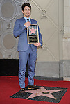 James Franco Honored With A Star On The Hollywood Walk Of Fame in front of the El Capitan Theatre in Los Angeles, CA. March 7, 2013.