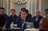 CHICAGO, IL - DECEMBER 06: Chicago, IL - Friday December 06, 2019: U.S. Soccer Board of Directors Meeting at The Blackstone in Chicago, IL. at The Blackstone on December 06, 2019 in Chicago, Illinois.