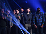 Kenneth Lonergan, Trip Cullman, Michael Cera, Chris Evans, Brian Tyree Henry during the Second Stage Theater Broadway lights up the Hayes Theatre at the Hayes Theatre on February 5, 2018 in New York City.