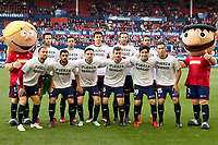 CA Osasuna during the Spanish la League soccer match between CA Osasuna and Lorca FC at Sadar stadium, in Pamplona, Spain, on Saturday, <br /> May 27, 2018.