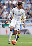 Real Madrid's Raphael Varane during La Liga match. October 31,2015. (ALTERPHOTOS/Guillermo)