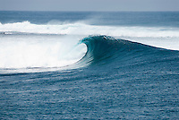 Surfing spot lineup in the Mentawai Islands, Indonesia