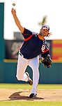 15 March 2006: Jon Rauch, pitcher for the Washington Nationals, on the mound during a Spring Training game against the New York Mets. The Mets defeated the Nationals 8-5 at Space Coast Stadium, in Viera, Florida...Mandatory Photo Credit: Ed Wolfstein..