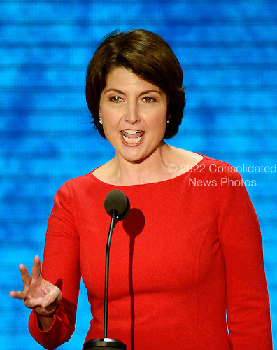 United States Representative Cathy McMorris Rodgers (Republican of Washington) makes remarks at the 2012 Republican National Convention in Tampa Bay, Florida on Tuesday, August 28, 2012.  .Credit: Ron Sachs / CNP.(RESTRICTION: NO New York or New Jersey Newspapers or newspapers within a 75 mile radius of New York City)