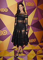 BEVERLY HILLS, CA - JANUARY 07: Actress Janina Gavankar arrives at HBO's Official Golden Globe Awards After Party at Circa 55 Restaurant in the Beverly Hilton Hotel on January 7, 2018 in Los Angeles, California.