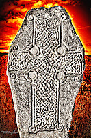 Situated on the shores of Loch Kinnord the ancient Kinnord Stone is a superb example of a Pictish Cross Slab thought to date back to the 9th century.<br /> <br /> dsider.co.uk online magazine, photo courses<br /> Photography by Bill Bagshaw