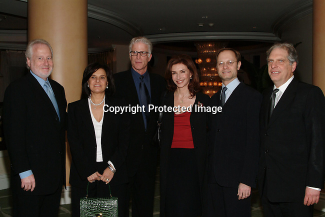 Garry Hart ,Guest, Ted Danson , &amp; guests<br />