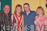 Jackie O'Mahony Killarney and Maura O'Sullivan Currow celebrate their engagement with their parents Gerard O'Sullivan and Eileen O'Mahony in the Fa?ilte Hotel Killarney on Friday night.