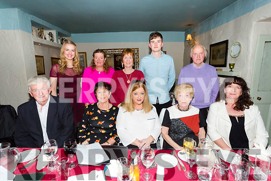 Geraldine Whelan, London celebrating her 50th Birthday with family and friends at the Brogue Inn on Saturday Pictured front l-r Paddy Fogarty, Rose Fogarty, Geraldine Whelan, Mary Slattery, Cathleen Griffin, Back l-r Siobhan Clifford, Edna Houlihan, Debbie Clifford, Niall Clifford and John Slattery