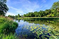 France, Maine-et-Loire (49), Brissac-Quincé, château de Brissac, ruisseau de Montayer