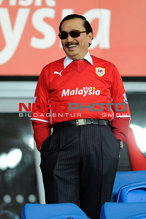 Cardiff City owner, Vincent Tan -    28/12/2013 - SPORT - FOOTBALL - Cardiff City Stadium - Cardiff - Cardiff City v Sunderland - Barclays Premier League<br /> Foto nph / Meredith<br /> <br /> ***** OUT OF UK *****