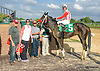 Creature of Luxe winning at Delaware Park on 9/29/15