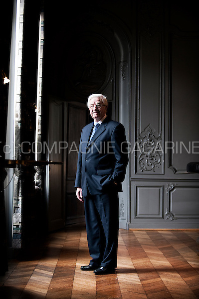 Julien De Wilde, chairman of the Agfa-Gevaert and Nyrstar companies (Belgium, 16/02/2012)