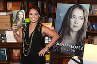 CORAL GABLES, FL - JANUARY 16: Adamari Lopez signs copies of her new book 'Viviendo' at Books & Books in Coral Gables, Florida. January 16, 2013. Credit: Majo Grossi/MediaPunch Inc. /NortePhoto