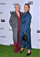 SANTA MONICA, CA. February 21, 2019: Glenn Close & Annie Starke at the 14th Annual Oscar Wilde Awards.<br /> Picture: Paul Smith/Featureflash
