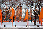 THE GATES by CHRISTO & JEANNE CLAUDE (Central Park 2005)