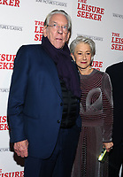 NEW YORK, NY - JANUARY 11:  Donald Sutherland and Helen Mirren at The Leisure Seeker New York Screening at AMC Loews Lincoln Square in New York City on January 11, 2018. <br /> CAP/MPI/JP<br /> &copy;JP/MPI/Capital Pictures