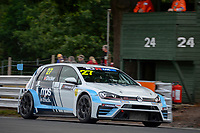 #27 Tim DOCKER (GBR) Maximum Motorsport Volkswagen Golf GTI TCR during TCR UK Championship as part of the BRSCC TCR UK Race Day Oulton Park  at Oulton Park, Little Budworth, Cheshire, United Kingdom. August 04 2018. World Copyright Peter Taylor/PSP. Copy of publication required for printed pictures.