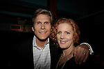 Grant Aleksander & Liz Keifer - Weight: The Series held its premiere party on October 8, 2014 at Galway Pub, New York City, New York. (Photo by Sue Coflin/Max Photos)