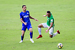 David Lazari of Wofoo Tai Po (R) in action against Kitchee Forward Fernando Azevedo Pedreira (L) during the Hong Kong FA Cup final between Kitchee and Wofoo Tai Po at the Hong Kong Stadium on May 26, 2018 in Hong Kong, Hong Kong. Photo by Marcio Rodrigo Machado / Power Sport Images