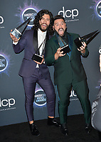 LOS ANGELES, USA. November 25, 2019: Dan & Shay at the 2019 American Music Awards at the Microsoft Theatre LA Live.<br /> Picture: Paul Smith/Featureflash