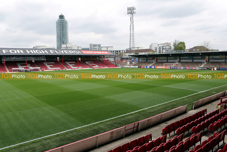 General view of Griffin Park during Brentford vs Derby County, Sky Bet EFL Championship Football at Griffin Park on 14th April 2017
