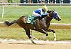Early Eddie winning at Delaware Park on 6/23/12