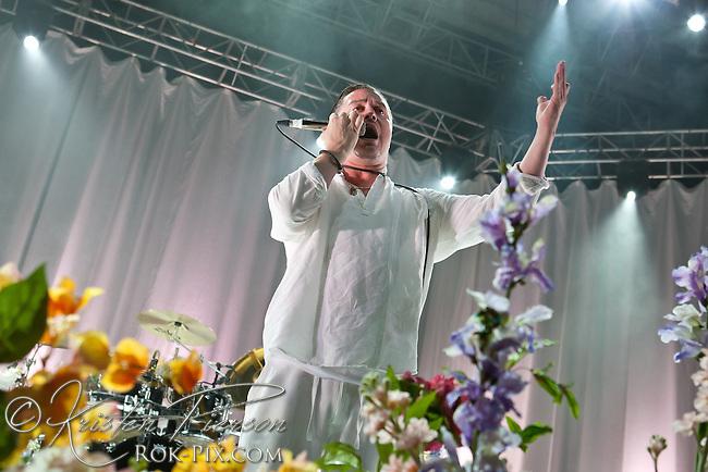 Faith No More performs at Blue Hills Bank Pavilion August 4, 2015