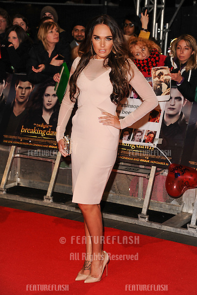 "Tamara Ecclestone arriving for the ""The Twilight Saga: Breaking Dawn Part 2"" premiere at the Odeon Leicester Square, London. 14/11/2012 Picture by: Steve Vas / Featureflash"