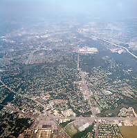 1998 September 05..Aerial..High altitude of census tracts around Elizabeth River in Portsmouth & Norfolk..Gene Woolridge.NEG# 11678 - 43.NRHA#..