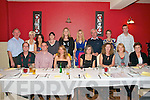Night Out : The staff of Listowel Community collage enjoying a meal at Fitzgerald's restaurant, Listowel  on Friday night last, Front: Dermot Waugh, Kevin Beasley, Marie Fitzgerald, Patricia cassidy, Mary Dowling, Catherine Supple & Kathleen Nolan. Back : Paddy Duggan, Anne Marie nelligan, Siobhan Foley, Claire McGrath, Michelle Mulvihill, Martina Dillon, Sean McCarthy, Principal, Carmel Kelly, Vise Principal & Tom Perrie.
