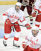Alec Martinez - The Boston College Eagles defeated the Miami University Redhawks 5-0 in their Northeast Regional Semi-Final matchup on Friday, March 24, 2006, at the DCU Center in Worcester, MA.
