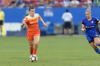 Frisco, TX - Sunday September 03, 2017: Cari Roccaro during a regular season National Women's Soccer League (NWSL) match between the Houston Dash and the Seattle Reign FC at Toyota Stadium in Frisco Texas. The match was moved to Toyota Stadium in Frisco Texas due to Hurricane Harvey hitting Houston Texas.