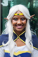 Beautiful Mystical Elf Girl, Emerald City Comicon 2017, Seattle, WA, USA.