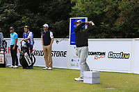 Chase Koepka (USA) on the 11th tee during Round 1 of the Northern Ireland Open at Galgorm Castle Golf Club, Ballymena Co. Antrim. 10/08/2017<br /> Picture: Golffile | Thos Caffrey<br /> <br /> <br /> All photo usage must carry mandatory copyright credit     (&copy; Golffile | Thos Caffrey)