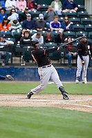 June 8, 2008: Fresno Grizzlies' Scott McClain at-bat during a Pacific Coast League game against the Tacoma Rainiers at Cheney Stadium in Tacoma, Washington.
