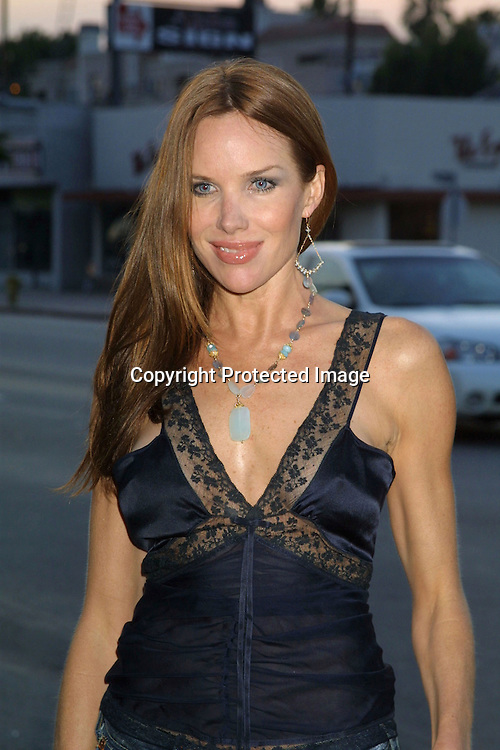 "©2003 KATHY HUTCHINS / HUTCHINS PHOTO.OPENING OF THE CLOTHING BOUTIQUE OWNED BY.LISA RINNA ..""BELLE GRAY"".13812 VENTURA BLVE.SHERMAN OAKS,CA..SARAH BUXTON."