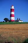 AMHK98 Happisburgh lighthouse Norfolk England
