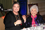 LOS ANGELES - DEC 5: Mindy Cohn, Charlotte Rae at The Actors Fund's Looking Ahead Awards at the Taglyan Complex on December 5, 2017 in Los Angeles, California