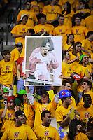 Terrapins fans taunts Blue Devils' Jon Scheyer at the Comcast Center in College Park, MD on Wednesday, March 3, 2010. Alan P. Santos/DC Sports Box