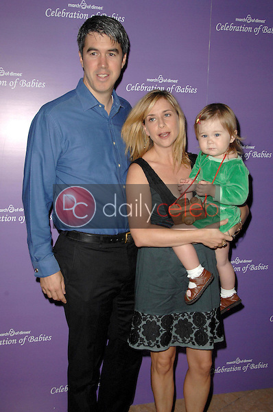 Keith Christian and Kellie Martin with their daughter Margaret<br />