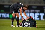 Niclas Füllkrug / Fuellkrug (Werder Bremen #11), Davy Klaassen (Werder Bremen #30), Verletzung / verletzt / Schmerzen<br /> <br /> <br /> Sport: nphgm001: Fussball: 1. Bundesliga: Saison 19/20: Relegation 02; 1.FC Heidenheim vs SV Werder Bremen - 06.07.2020<br /> <br /> Foto: gumzmedia/nordphoto/POOL <br /> <br /> DFL regulations prohibit any use of photographs as image sequences and/or quasi-video.<br /> EDITORIAL USE ONLY<br /> National and international News-Agencies OUT.