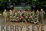 CBS, The Green students pictured at Predator Paintball, Tralee, on Wednesday morning last.